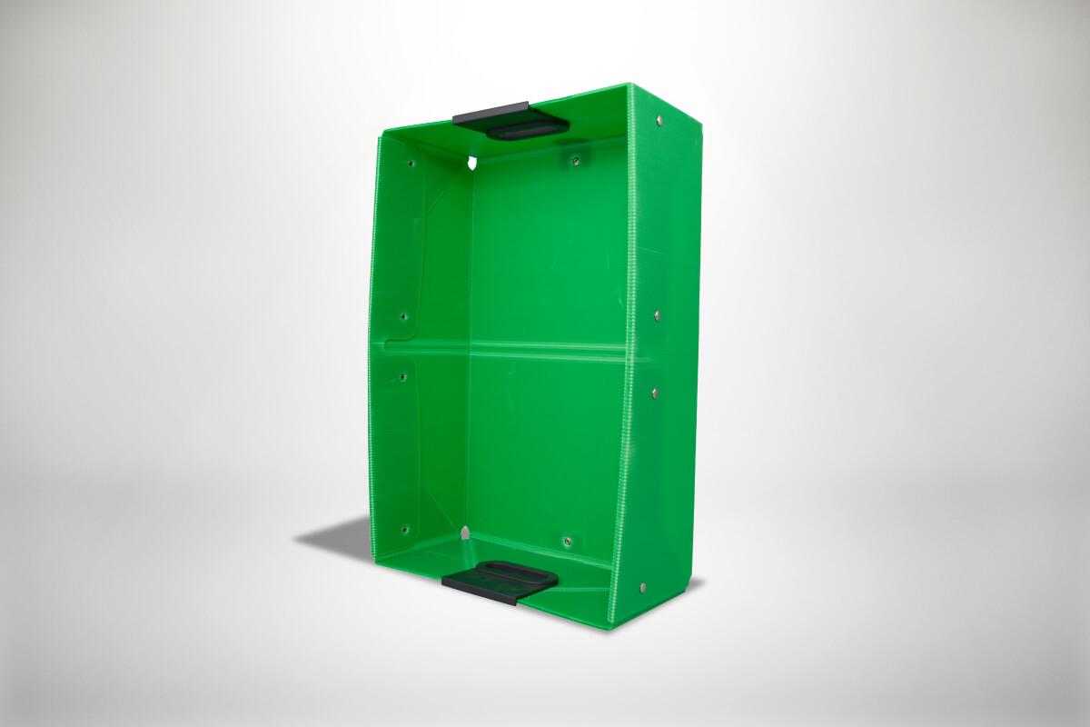 Gruene Quickboxx Faltbox Klappbox Transportbox Tragebox
